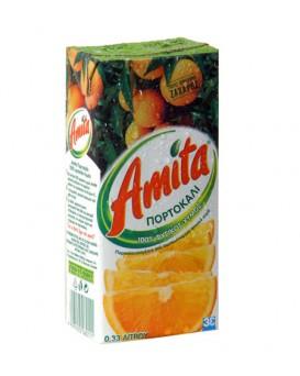 Amita πορτοκαλι 330ml